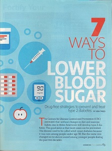 7 ways to lower blood sugar
