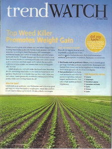 Week Killer Promotes Weight Gain